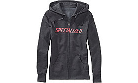 PODIUM HOODIE WOMENS CARB/ACDRED XS