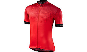 RBX COMP JERSEY SHORT SLEEVES  GEO RED S