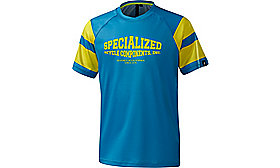ENDURO GROM COMP SHORT SLEEVES  JERSEY YOUTH NEON BLU M