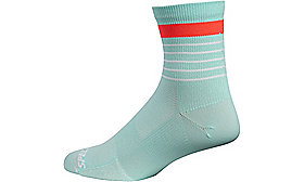 ROAD MID SOCK LT TEAL S