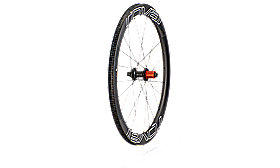 CLX 50 DISC REAR SATIN CARBON/WHT/BLK
