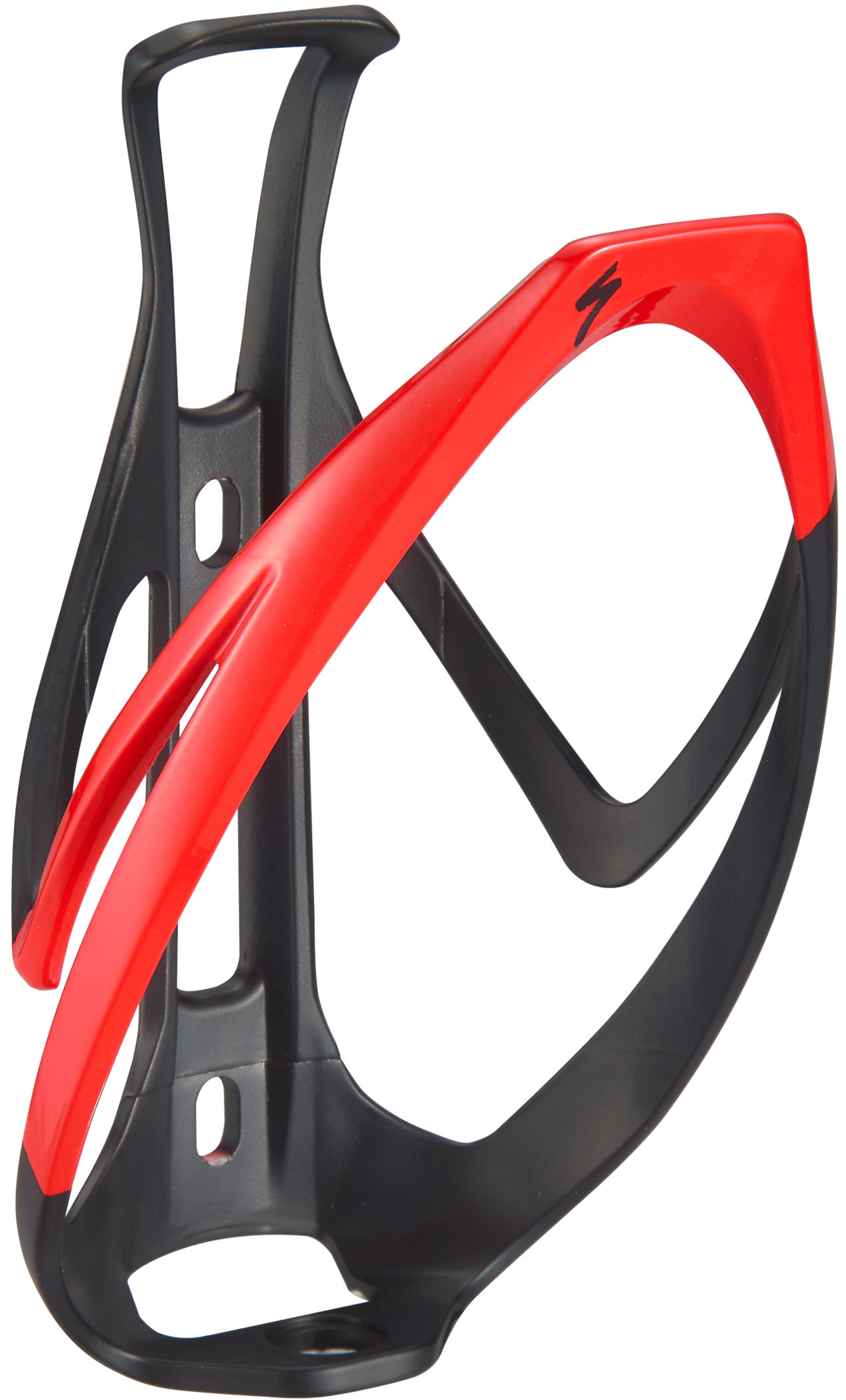 SPECIALIZED Lot of 2 Rib Cage II Road Mountain GLOSS BLACK Water Bottle Cage NEW