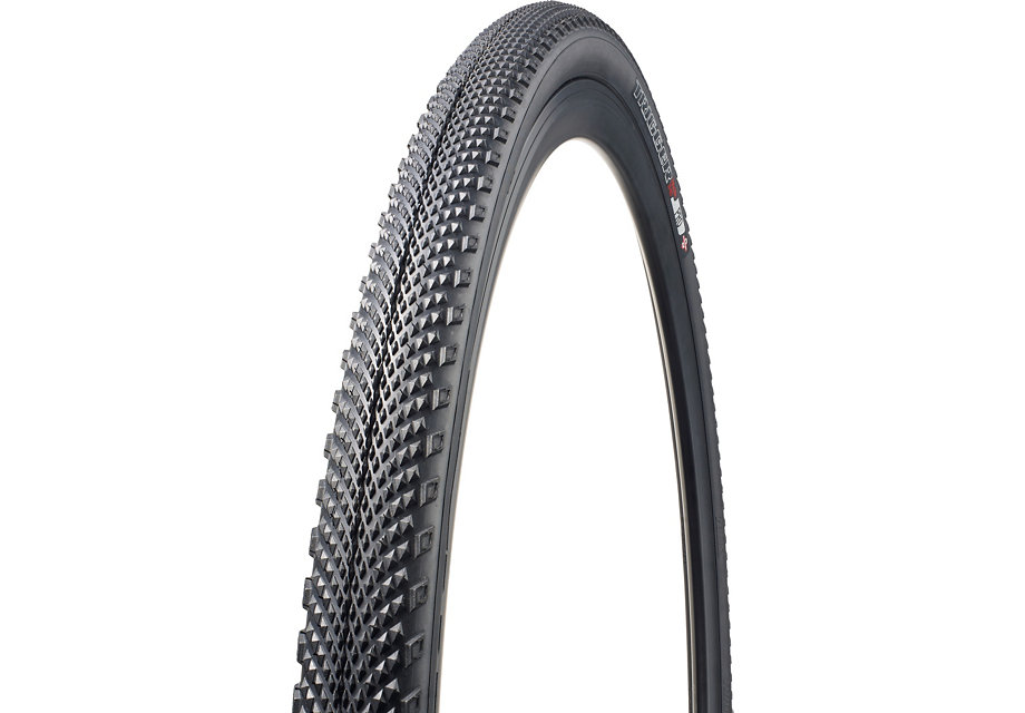 Specialized bicycle tire for gravel.