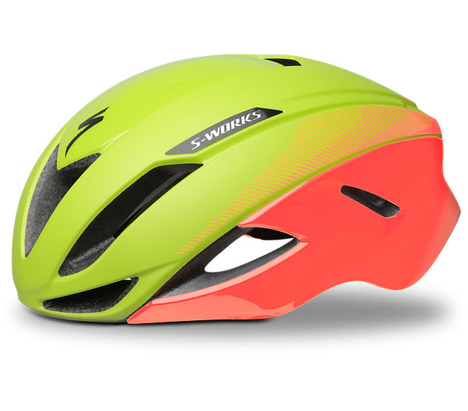 2018 S-Works Evade Fluo/Lava LTD