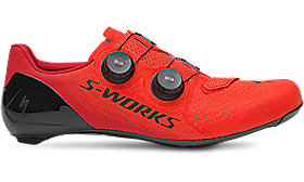 S-WORKS 7 ROAD SHOE ROCKET RED/CANDY RED40