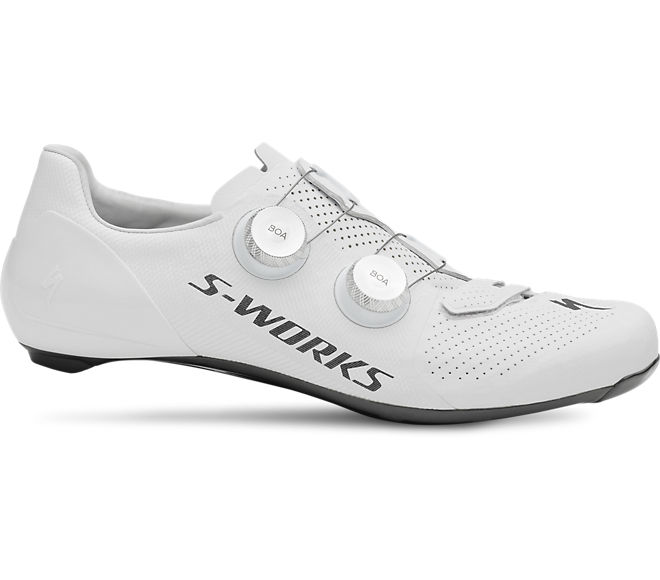 S-Works 7 Road Shoes-White