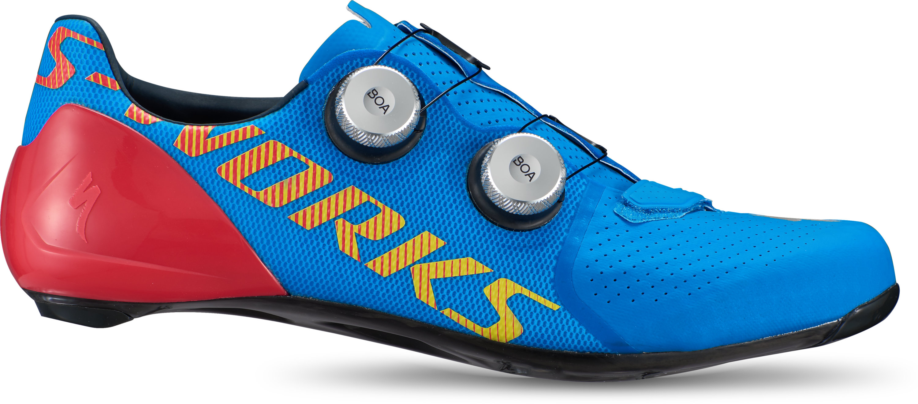 Team Blue//Black Select Size Specialized S-Works Road Shoes NEW
