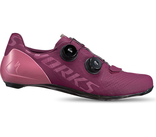 S-Works 7 Road Shoes Cast Berry