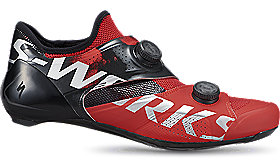 S-WORKS ARES ROAD SHOE RED 41