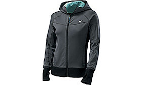 PODIUM JACKET WOMENS CARBON/LIGHT TEAL S