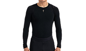 SEAMLESS MERINO BASELAYER LS