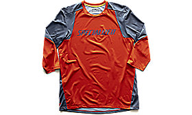 ENDURO 3/4 JERSEY RKTRED/STRMGRY M