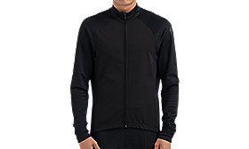 THERMINAL WIND JERSEY LS MEN BLK L