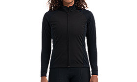 THERMINAL WIND JERSEY LS WMN BLK S
