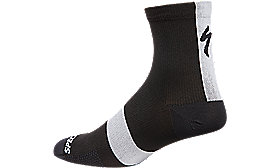 ROAD MID SOCK BLK M