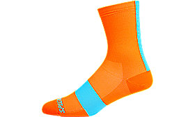 ROAD TALL SOCK NEON ORG M