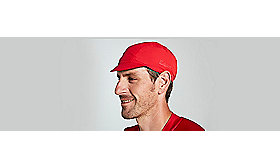 DEFLECT UV CYCLING CAP SAGAN DECON RED