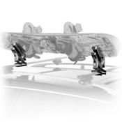 Snowboard Car Rack