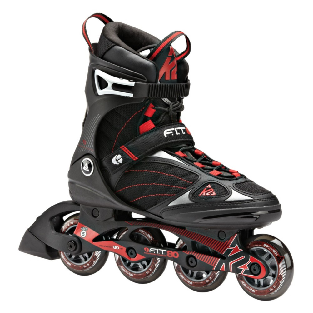 2015 K2 FIT 80 and Athena Inline Skate