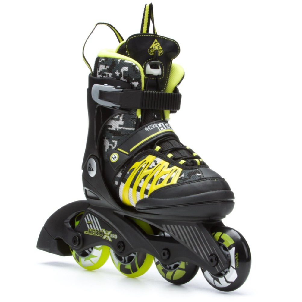 2015 K2 Sk8 Hero X Pro and Charm X Pro Adjustable Kids Inline Skate