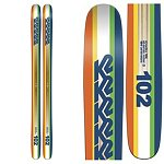 K2 Shreditor 102 Skis 2016