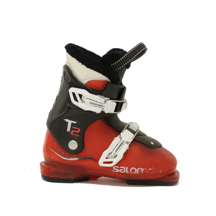 Used Ski Boots >> Details About Used 2016 Salomon T2 Kids Toddler Youth Size Ski Boots 19 0