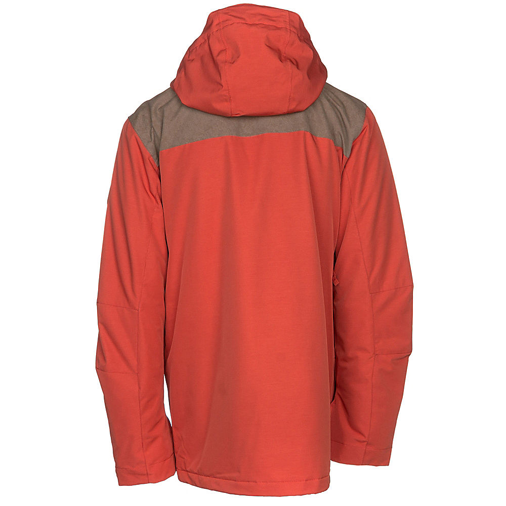 e0ebe120e43 Details about Quiksilver Raft Mens Insulated Snowboard Jacket