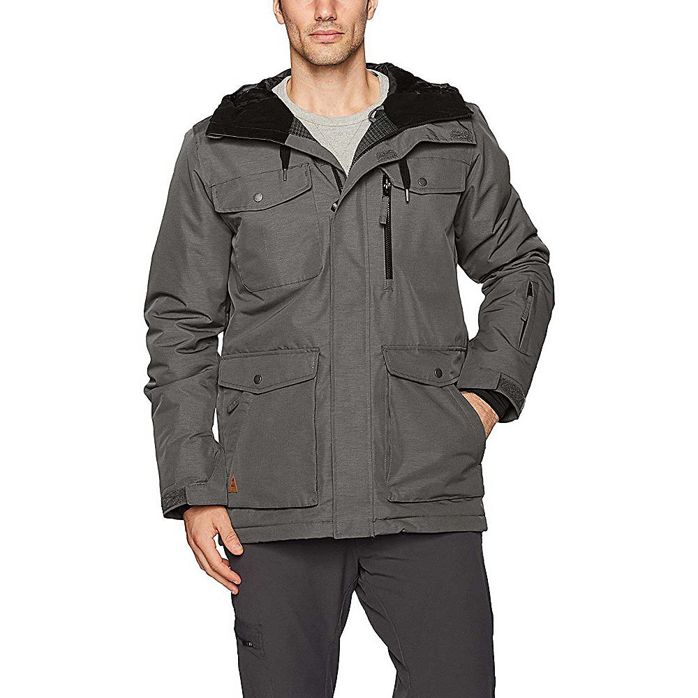 Quiksilver Raft Snow Jacket Eqytj03125 Xl Dark Shadow Ebay