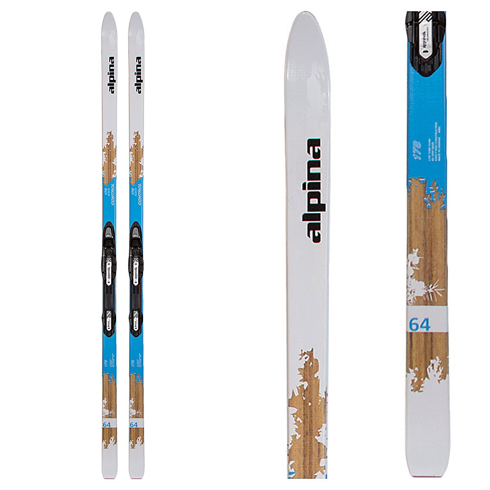 Alpina Control 64 W Womens Cross Country Skis With