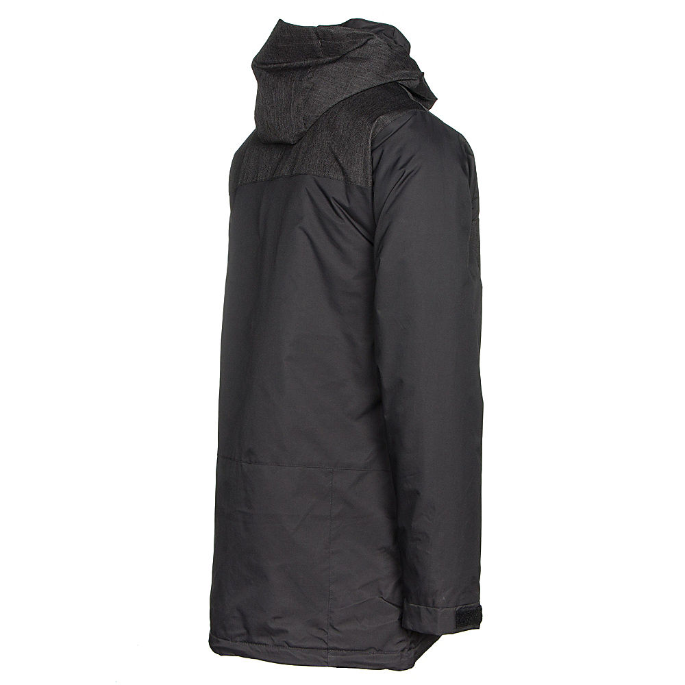 b77fd609a Ripzone Kinetic Color Block Mens Insulated Snowboard Jacket Black ...
