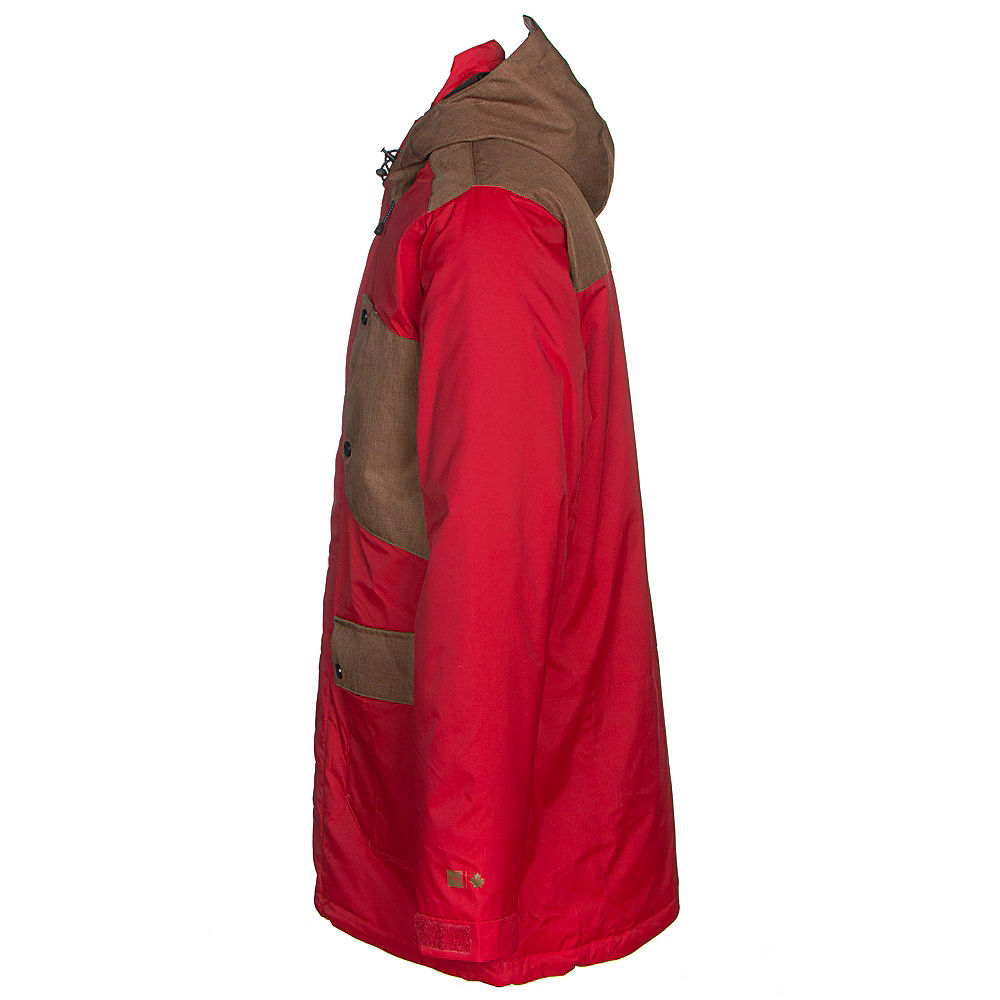 c01b81b8b Ripzone Kinetic Color Block Mens Insulated Snowboard Jacket
