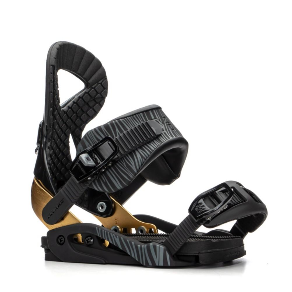 Drake Queen Womens Snowboard Bindings: Drake Jade Binding Womens Snowboard Bindings Medium/Black