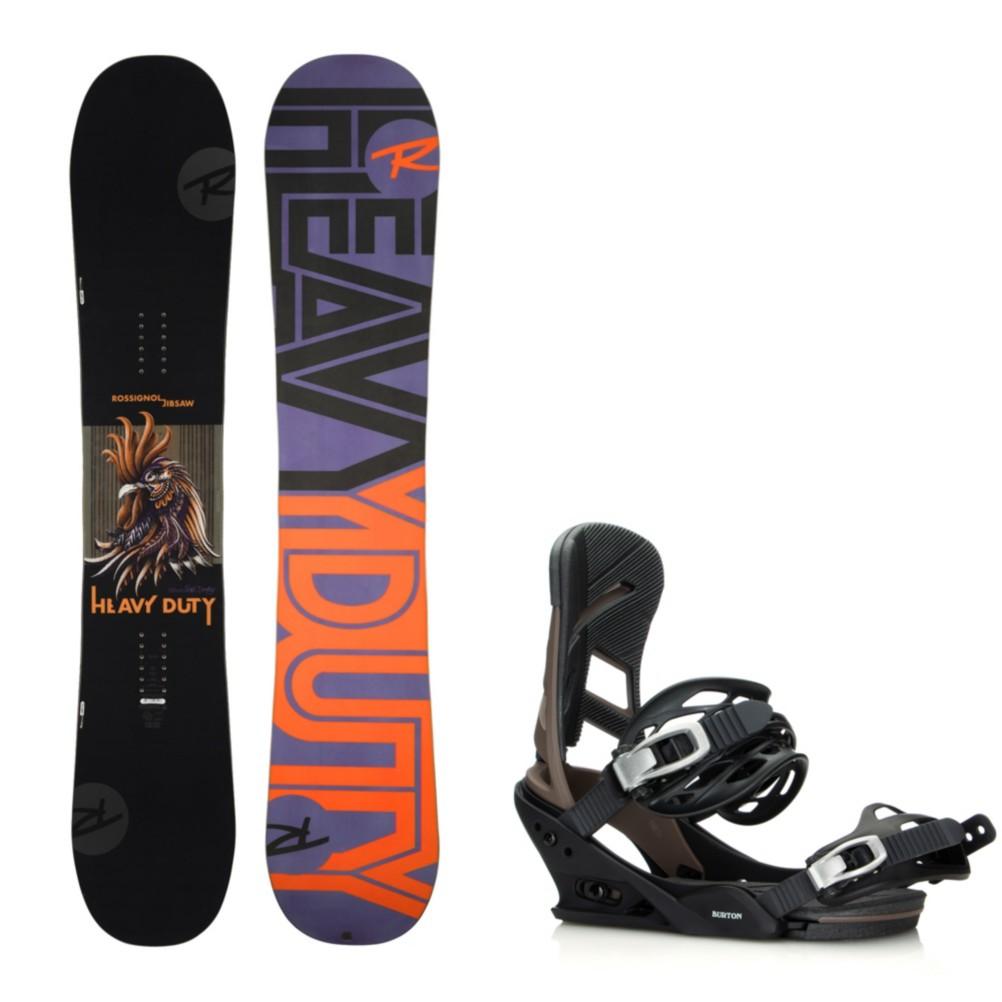 Rossignol Jibsaw Heavy Duty Wide Snowboard And Binding