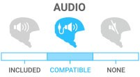 Audio: Audio Compatible - compatible with after-market audio system