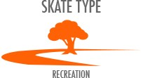 Skate Type: Recreation - comfortable and stiff for newer skaters