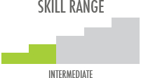 Skill Level: Intermediate - better materials to aid in progression
