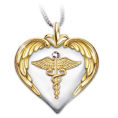 Nurse's Serenity Prayer Pendant
