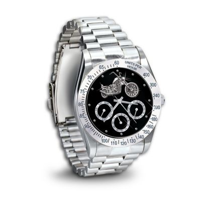 Ride Hard, Live Free Chronograph Men's Watch