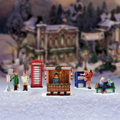 Village Sidewalks Village Accessory Set
