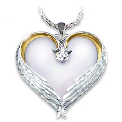 Forever in my heart sterling silver heart shaped pendant necklace forever in my heart sterling silver heart shaped pendant necklace sympathy gift aloadofball Gallery