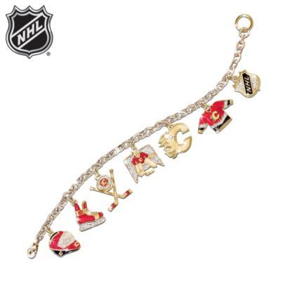 Calgary Flames® Charm Bracelet