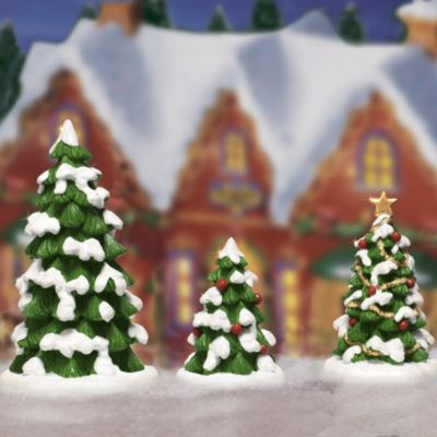 Whimsical Tree Set Village Accessory