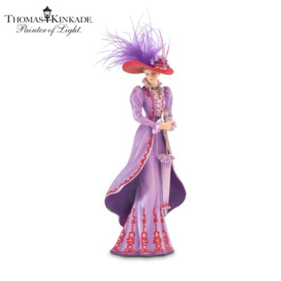 Thomas Kinkade Tea At Three Figurine