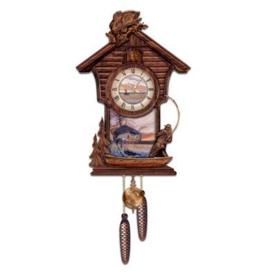 Trophy Time Cuckoo Clock