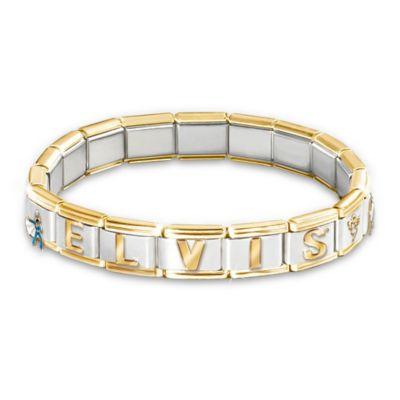 Forever Elvis Charm Bracelet
