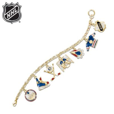 Edmonton Oilers® Charm Bracelet