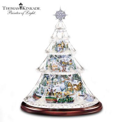 Thomas Kinkade Holiday Reflections Tree