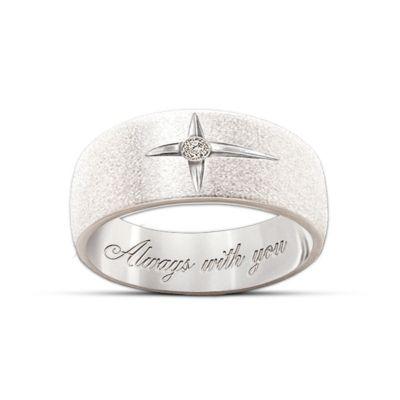 Forever In Faith Diamond Men And Women's Ring