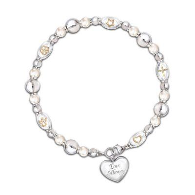 Dearest Daughter, Your Greatest Gifts Diamond Bracelet