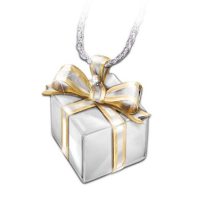 Grandma's Gift Diamond Pendant Necklace